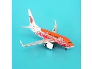 Phoenix Air China 737-700 1/400 Gold Peony REG#B5214