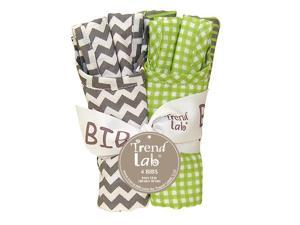 BOUQUET 4 PACK BIB - PERFECTLY PREPPY