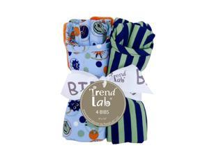 BOUQUET 4 PACK BIB - SNUGGLE MONSTER