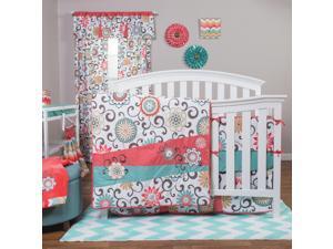 Waverly Pom Pom Play 4 Piece Crib Bedding Set
