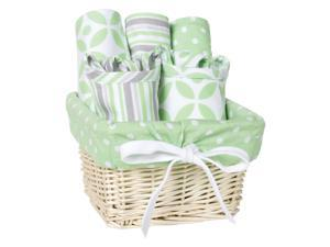 Lauren 7 Piece Feeding Basket Gift Set