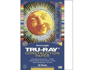 Pacon Tru-Ray Construction Paper  9-Inches by 12-Inches  50-Count  Dark Brown...