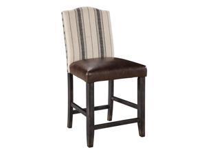 Upholstered Barstool (2/CN) Two-tone