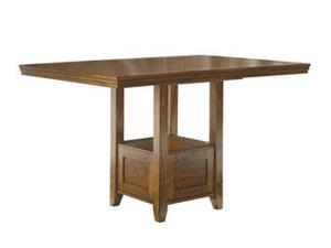 RECT DRM Counter EXT Table Medium Brown