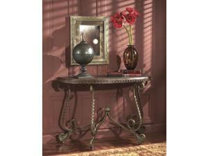 Sofa Table Dark Brown