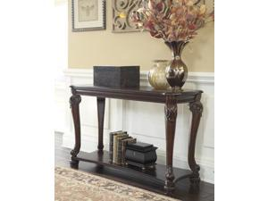 Sofa Table Dark Brown