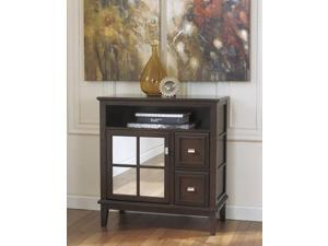 Contemporary Console Table in Dark Brown - Signature Design by Ashley Furniture
