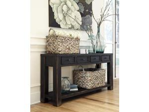 Sofa Table Black