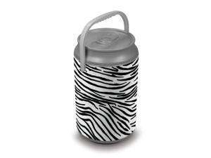 Mega Can Cooler- Zebra Print