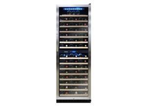 155-Bottle Dual Zone Wine Cooler