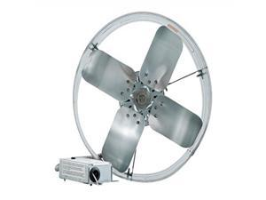iLIVING Newest Automatic Gable Mount Attic Ventilator Fan with Adjustable Thermostat and Humidistat