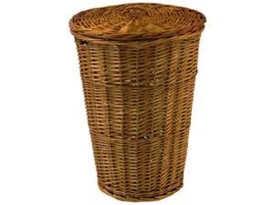 Round Willow Hamper with Matching Lid - Honey Honey