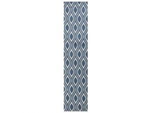 Allure 4063 Blue/Ivory Verano size - 2 ft.3 Inches by 7 ft.6 Inches Runner