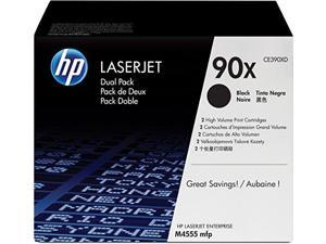 HP BR LASERJET M4555H 2-90X HI BLACK TONERS, 48k yield
