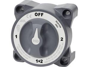 Blue Sea Systems 3003 HD-Series Battery Switch Selector with Alternator Field Disconnect