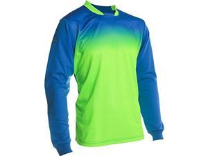 Vallejo GK Jersey Royal/Neon Green Size yl