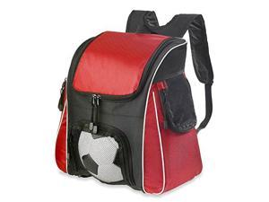 Taranto Back Pack with Fold Out Mat Red