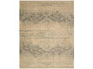 Nourison Silk Elements Beige Area Rug