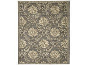 Nourison Silk Elements Graphite Area Rug