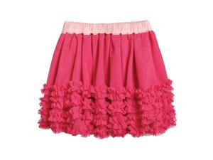 Liesl Tulle Skirt for 3-6 Months Baby Beetroot Color