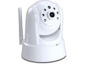 TRENDnet TV-IP862IC 720p HD Wireless Cloud Pan/Tilt/Zoom Surveillance Camera, 2-Way Audio, 25 Feet Night Vision, Free Mo