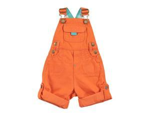 Jack Orange Dungaree for 3-6 Months Baby Orange Color
