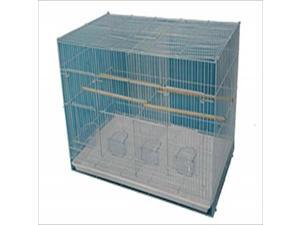 "Case of 4 30""x18"" Flight Cage w/Divider 504D White"
