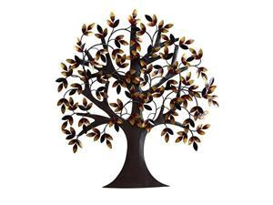 Mtl Tree Wall Decor 32 Inches Height, 31 Inches Width