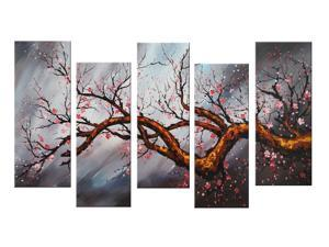 Modern Tree Canvas Art Painting 1084 60 x 32in