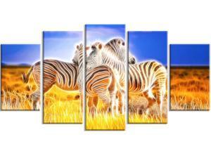 Zebra Duo on Canvas #PT2442