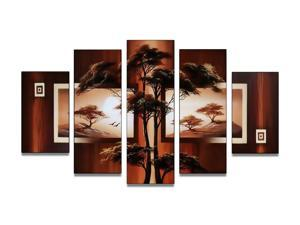 Nature Painting - Tree Painting- 60 x 32in