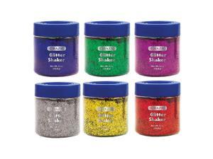 BAZIC 56.6g / 2 Oz. Primary Color Glitter Shaker w/ PDQ