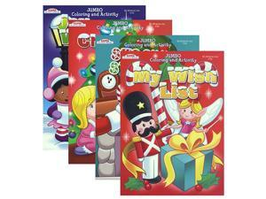 KAPPA JUMBO Christmas Coloring & Activity Book