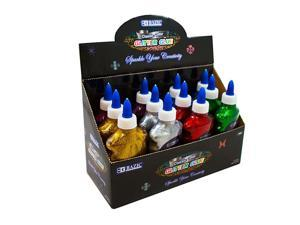 BAZIC 6.76 Oz. (200 mL) Classic Color Glitter Glue