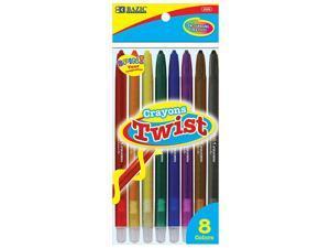 BAZIC 8 Color Propelling Crayon