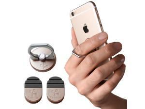 Koomus Finger Ring (Gold) Smartphone finger grab/kickstand/car mount