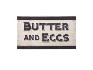Ella Elaine Butter & Eggs Wall Decor