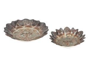 Valenciano Glass Bowls - Set of 2