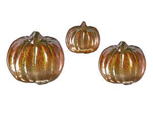Jack's Pumpkin Glass Dishes - Set of 3