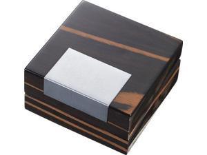 Visol VGB900 Trent Money Clip, Lighter or Cufflink Wooden Case