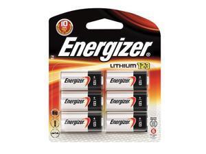 EL123BP Energizer 123 Battery 6pk