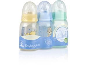 3-Pack 4oz. Round Tinted Printed Bottle Case Pack 48
