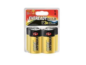 A95BP-4 Eveready Gold D Battery 4pk