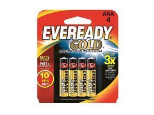 A92BP-4 Eveready Gold AAA Batteris 4pk