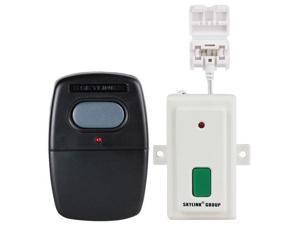 Skylink Smart Button Garage Door Opener & G6V Visor Clip Remote Kit (GBRV)