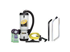 LineVacer 10-qt. HEPA Backpack Vacuum
