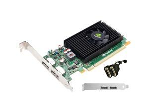PNY VCNVS310DVI-PB Quadro NVS 310 Graphic Card - 512 MB DDR3 SDRAM - PCI Express 2.0 x16 - Full-length/Low-profile - 64 bit Bus Width - 2560 x 1600 - Fan Cooler - DirectX 11.0, OpenCL, OpenGL 4.1