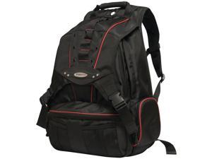"""MOBILE EDGE MEBPP7 Premium Backpack for 17.3"""" Notebooks (Black with Red Trim)"""