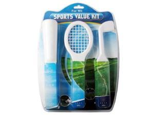 Nintendo Wii Compatible 3 in 1 Sports Pack Bundle