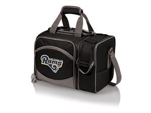 Los Angeles Rams - Malibu Picnic Tote by Picnic Time (Black)